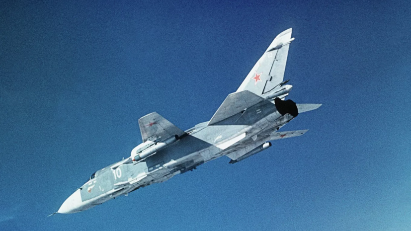 В Челябинской области прошли учения с участием самолётов-разведчиков Су-24МР