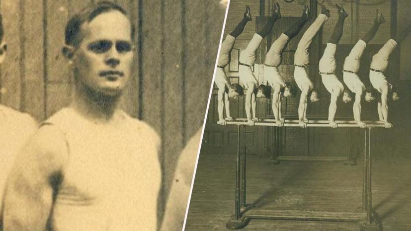 К медалям на протезе: 150 лет назад родился гимнаст Эйсер, выигравший три олимпийских золота с деревянной ногой