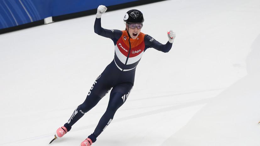 Действующая чемпионка мира по шорт-треку ван Рёйвен умерла в возрасте 27 лет