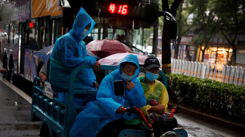 За сутки в КНР выявлено два новых случая заболевания коронавирусом