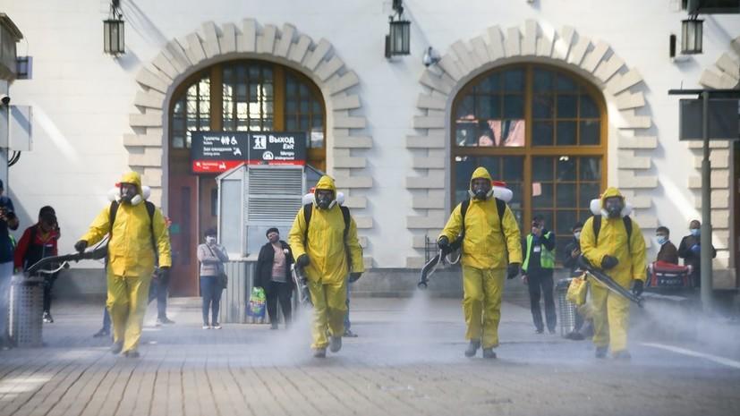 В МЧС рассказали о масштабах дезинфекции с момента начала пандемии