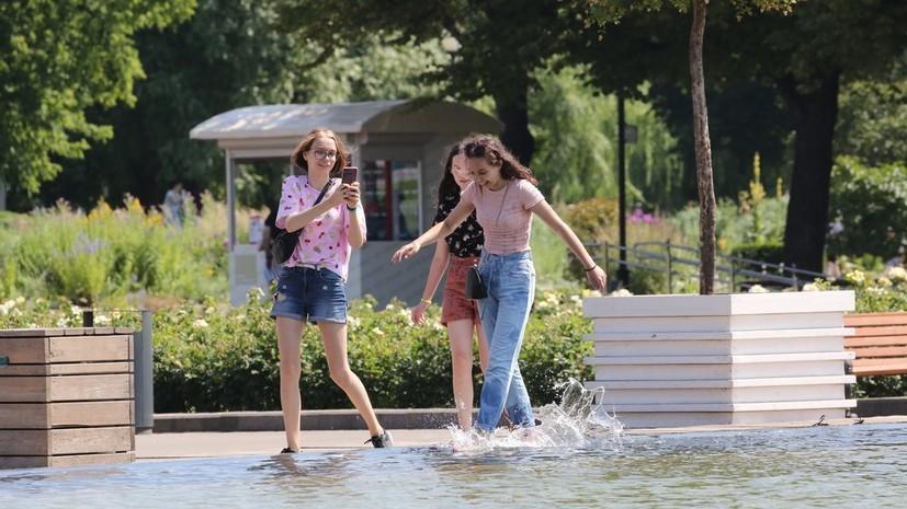 В Москве 11 июля ожидается до +29 °С
