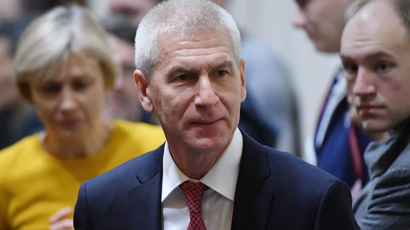 Матыцин оценил деятельность Драчёва на посту президента СБР