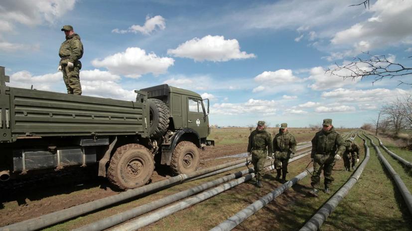 Два крымских водохранилища свяжут между собой трубопроводом