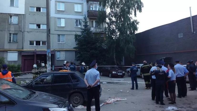 На месте взрыва газа в Нижнем Новгороде есть угроза обрушения