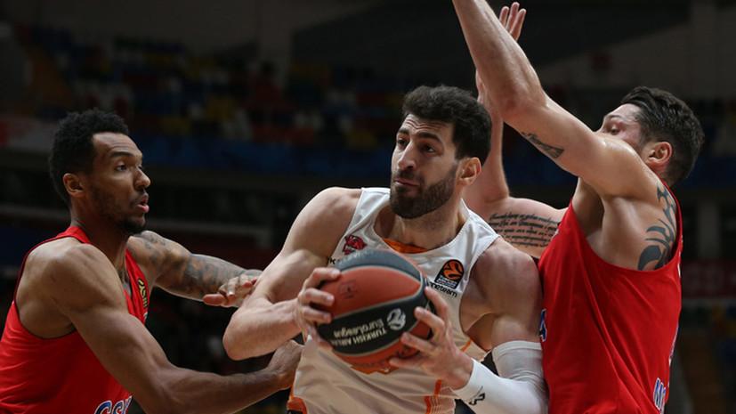 Грузинский баскетболист Шенгелия обратился к людям, раскритиковавшим его за переход в ЦСКА