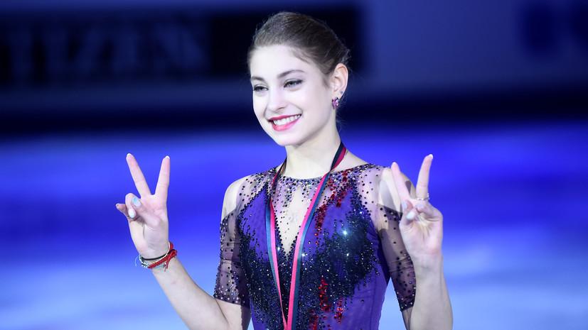 Косторная призналась, что счастлива выиграть награду ISU Skating Awards