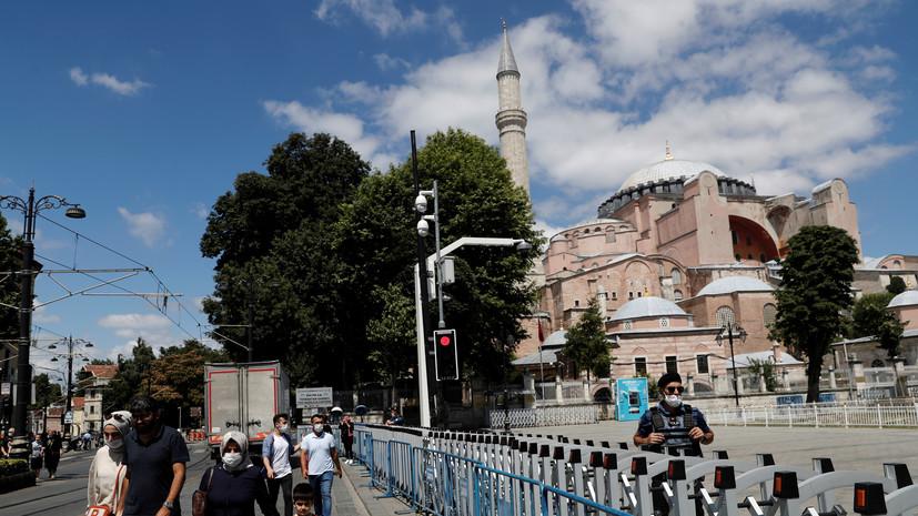 Эрдоган прокомментировал мнения других стран по собору Святой Софии