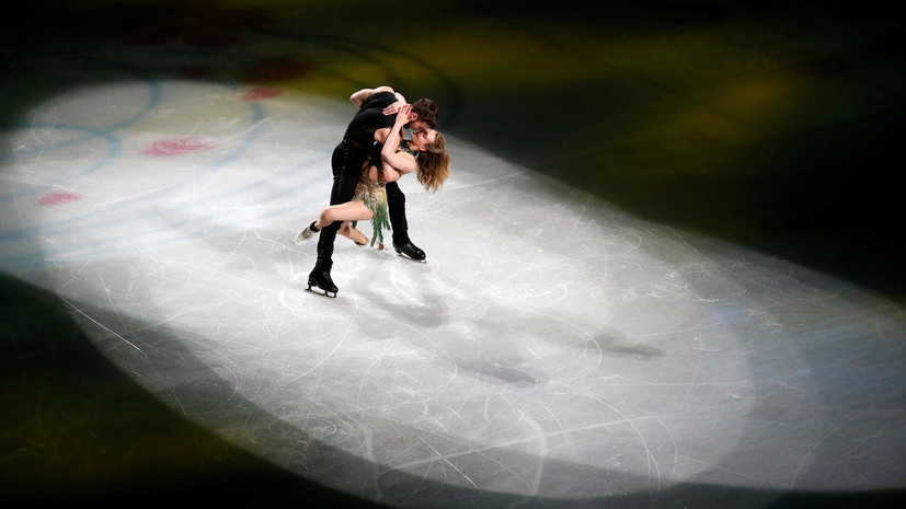 Пападакис и Сизерон получили премию ISU Skating Awards за лучшую программу