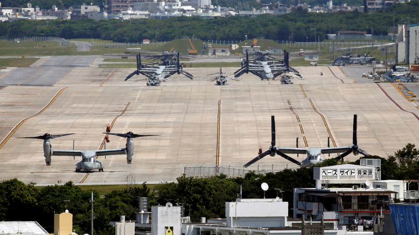 На двух базах США в Японии ввели режим самоизоляции