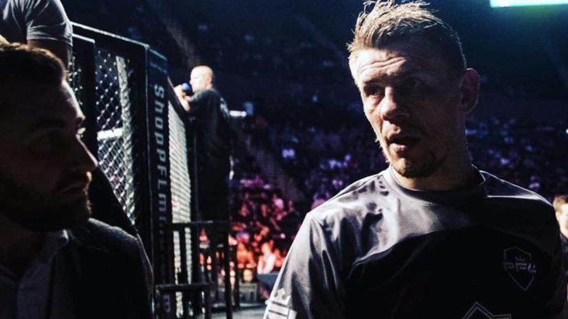 Российский боец Гришин проиграл поляку Тыбуре на UFC 251