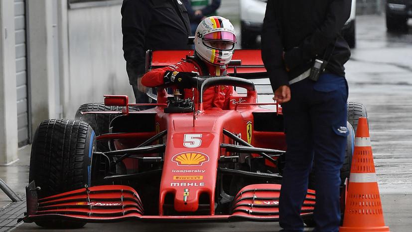Феттель намерен сделать заявление во время Гран-при Венгрии