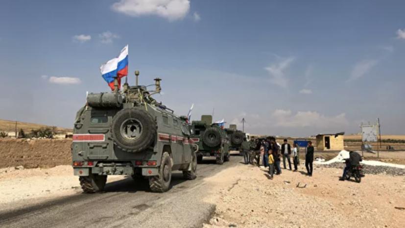 Российские военные доставили гуманитарную помощь в Алеппо