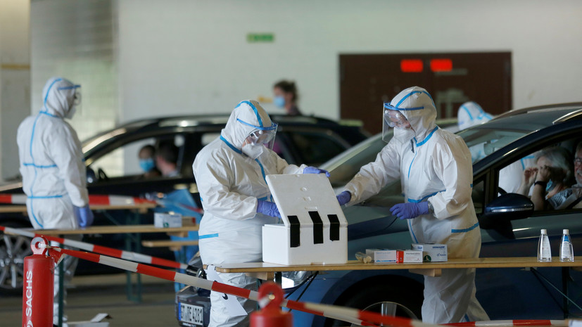 Число случаев коронавируса в Германии достигло 198 804