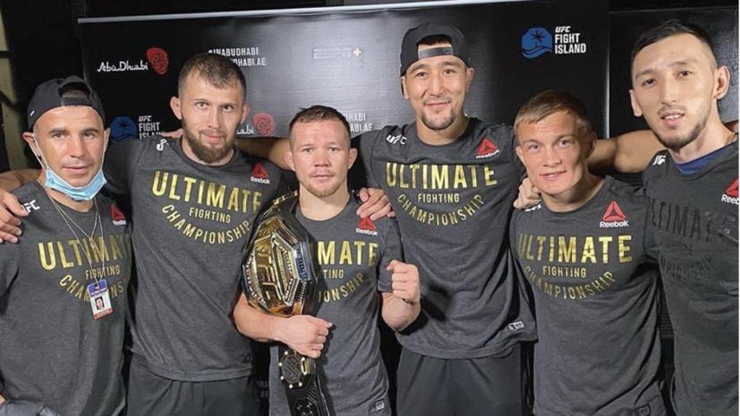 Российский боец Ян поблагодарил свою команду после завоевания титула UFC