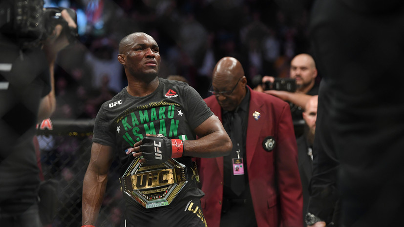 Чемпион UFC Усман о победе над Масвидалем: я на уровень выше