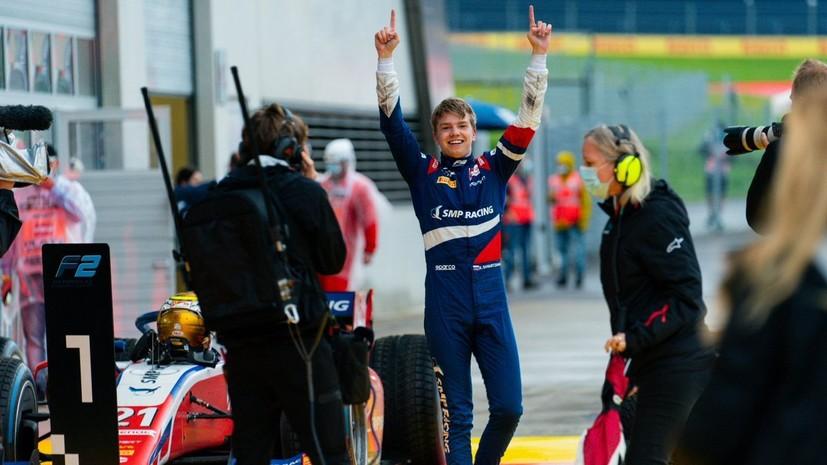 Шварцман сошёл во второй гонке второго этапа «Формулы-2»