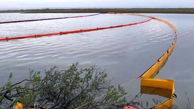 «Норильсктрансгаз» уточнил объём разлившегося на Таймыре топлива