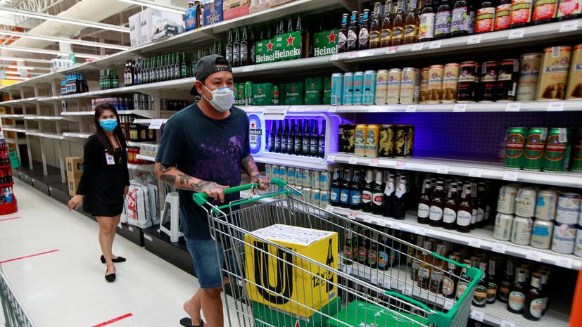 В ЮАР запретили продажу алкоголя из-за коронавируса