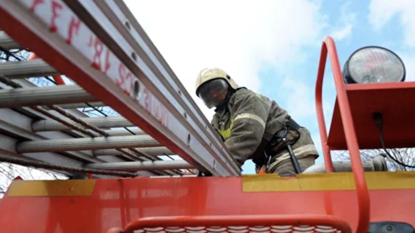 В Новосибирске произошёл пожар в жилом доме