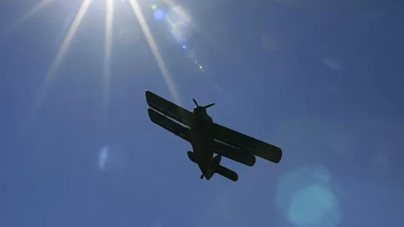 В Нижегородской области потерпел крушение самолёт Ан-2