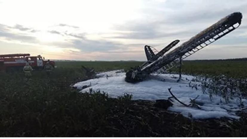 СК начал проверку из-за падения самолёта Ан-2 в Нижегородской области