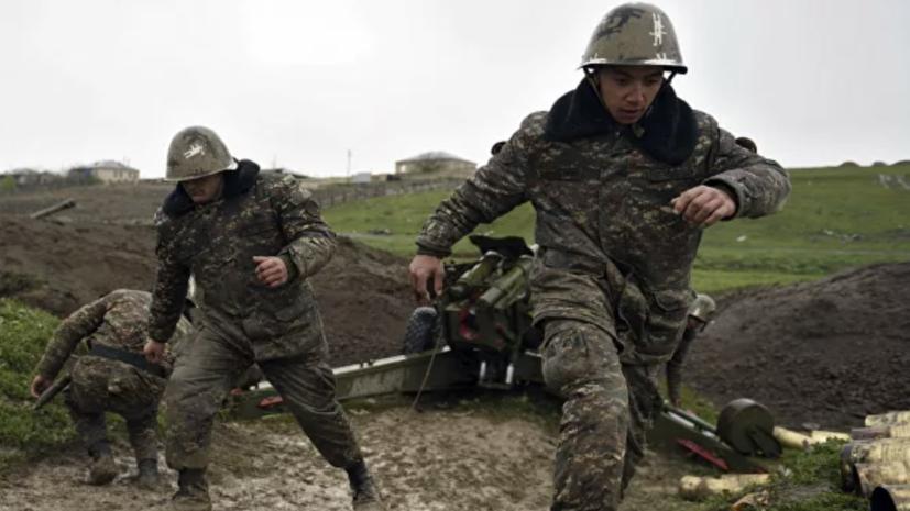 Минобороны Азербайджана заявило об ударе по опорному пункту ВС Армении