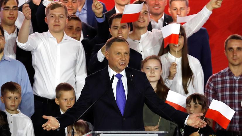 Анджей Дуда лидирует во втором туре выборов президента Польши