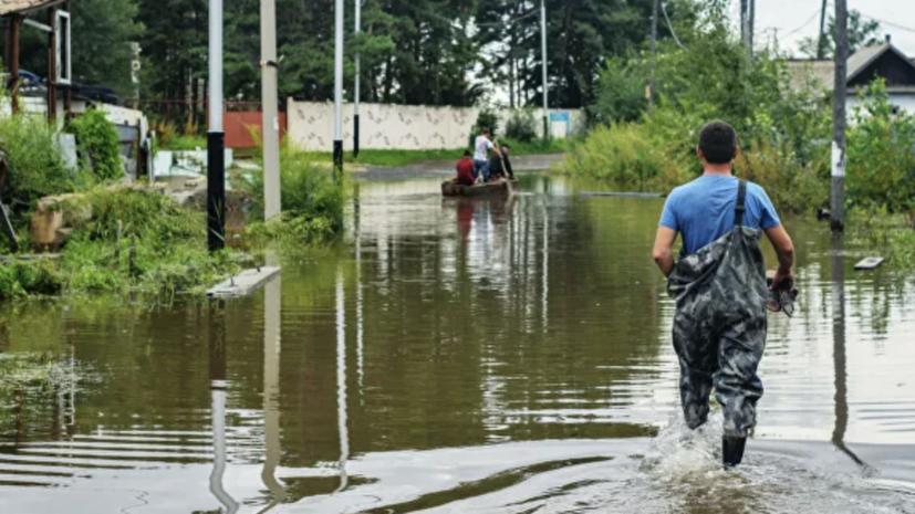 Почти 50 дачных участков подтоплено в Можайске из-за дождя