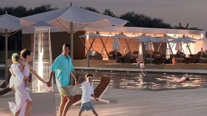 В Москве создадут зону пляжного отдыха с тремя бассейнами