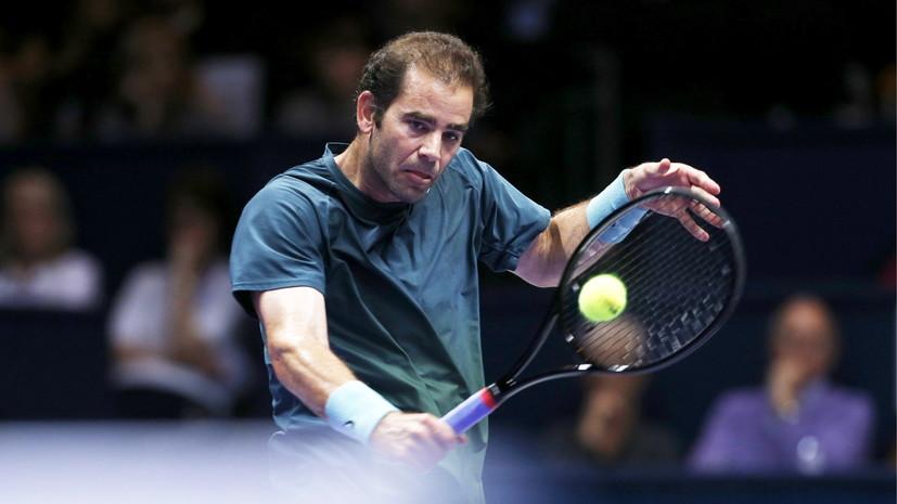 Теннисист Сампрас назвал лучший матч в своей карьере