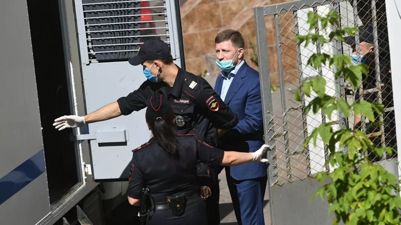 Защита обжаловала арест Фургала