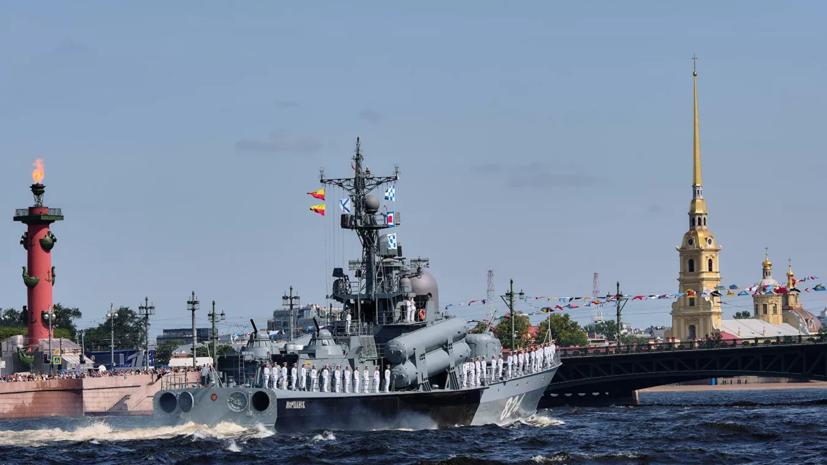 В Петербурге изменят график развода мостов из-за подготовки к Главному военно-морскому параду