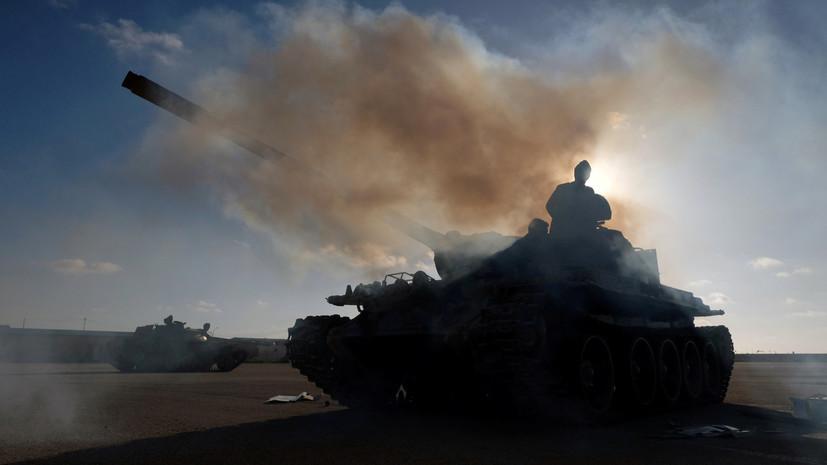Парламент Ливии разрешил Египту вмешаться в ливийский конфликт