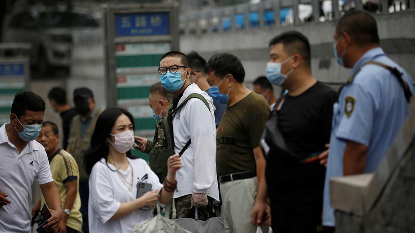 В Китае за сутки выявили ещё восемь носителей коронавируса