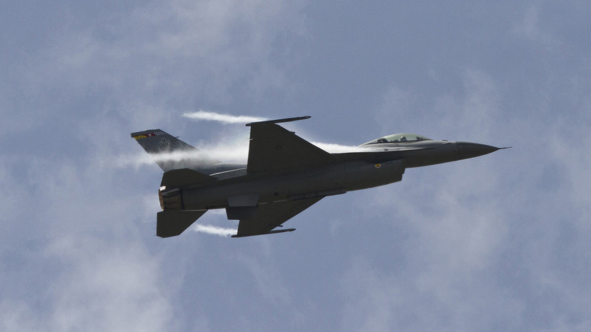 В Нью-Мексико разбился истребитель ВВС США