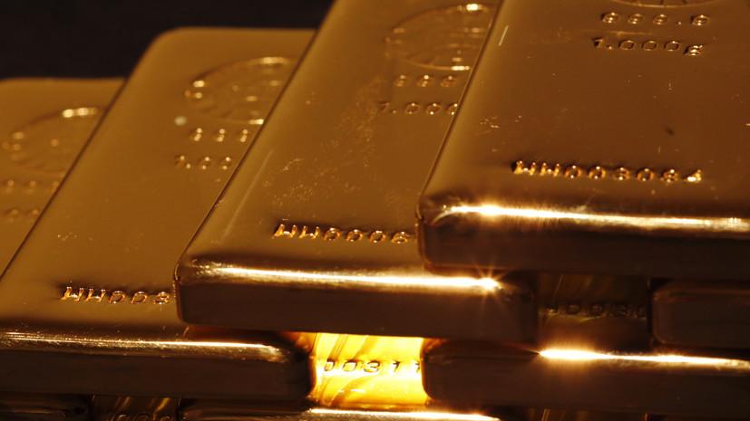 Доходы от экспорта российского золота превысили выручку от продаж газа