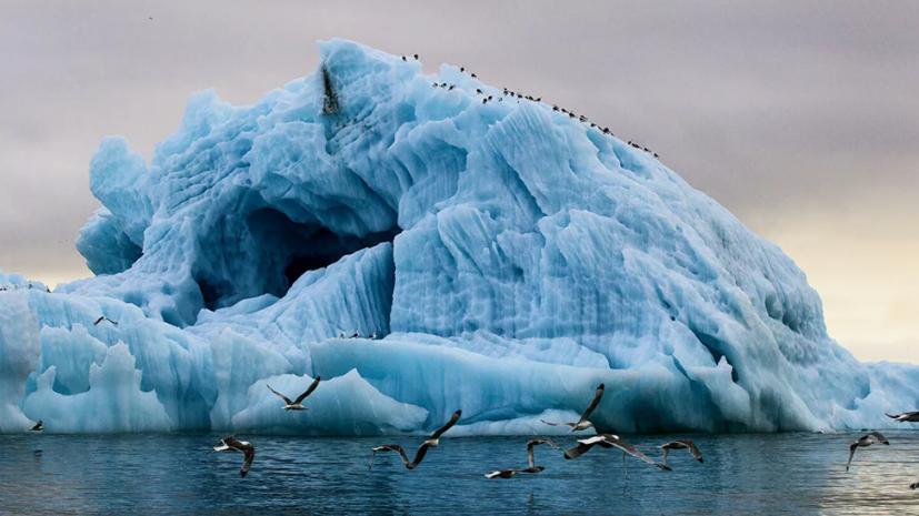 Росгидромет: многолетние льды исчезли в Северном Ледовитом океане