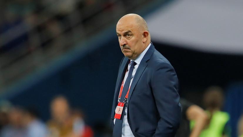 Черчесов высказался по поводу контрольных матчей сборной России