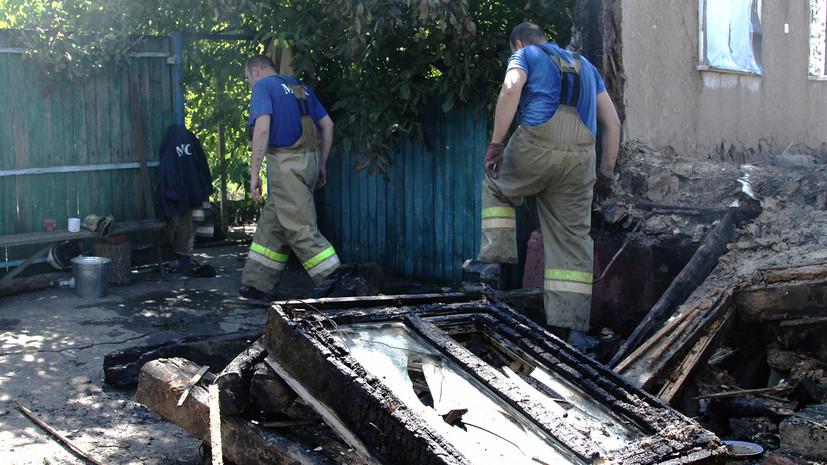 Маленький сын Елены Переверзевой пострадал во время обстрела в Донбассе