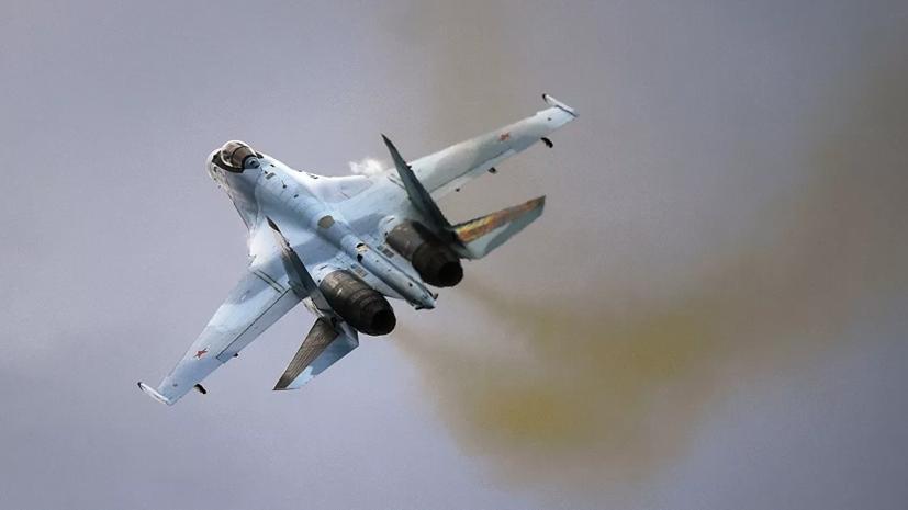 Российские истребители выполнили перехват иностранных самолётов