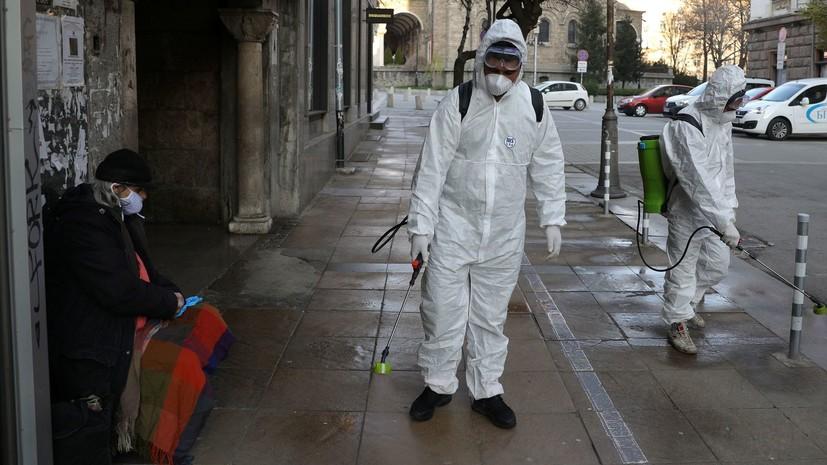 В Болгарии число случаев коронавируса достигло 7645