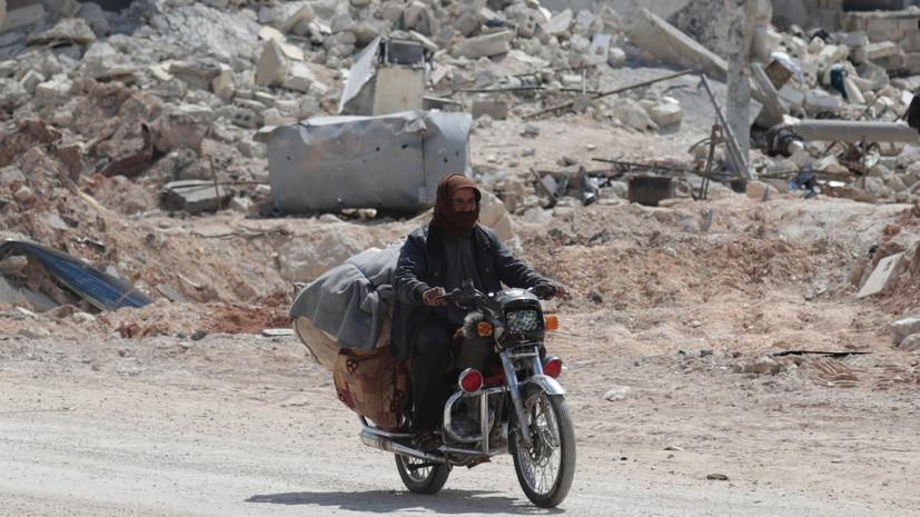 Террористы обстреляли населённый пункт в сирийской Латакии