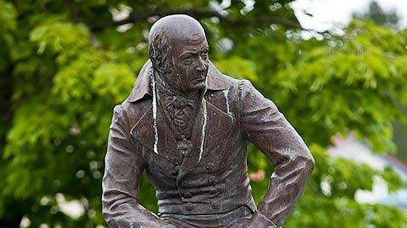 Памятник русскому правителю на Аляске уберут из центра Ситки
