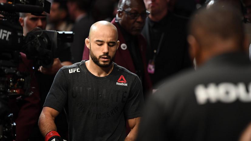 Бразильский боец UFC Мораес заболел коронавирусом