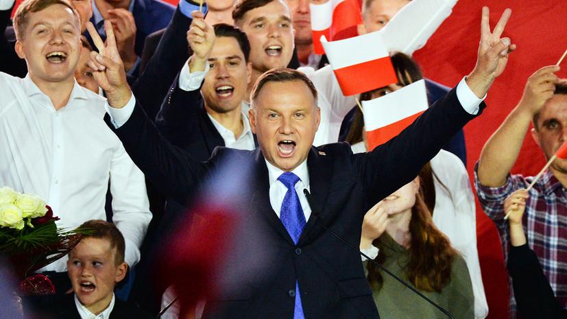 «Есть разница впонимании истории»: русские пранкеры поздравили президента Польши Анджея Дуду с победой на выборах