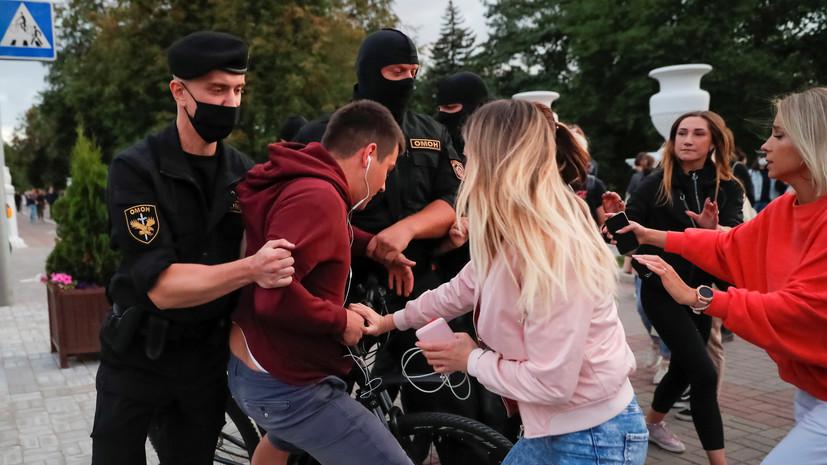 В МВД рассказали о шести пострадавших в Минске милиционерах