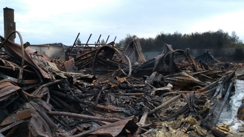 В Самаре полностью ликвидирован пожар на складе с краской