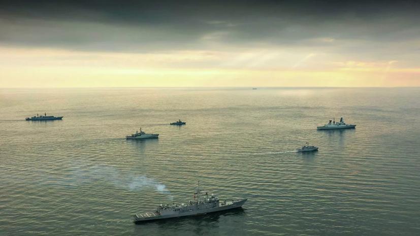 На Украине анонсировали учения с участием кораблей НАТО