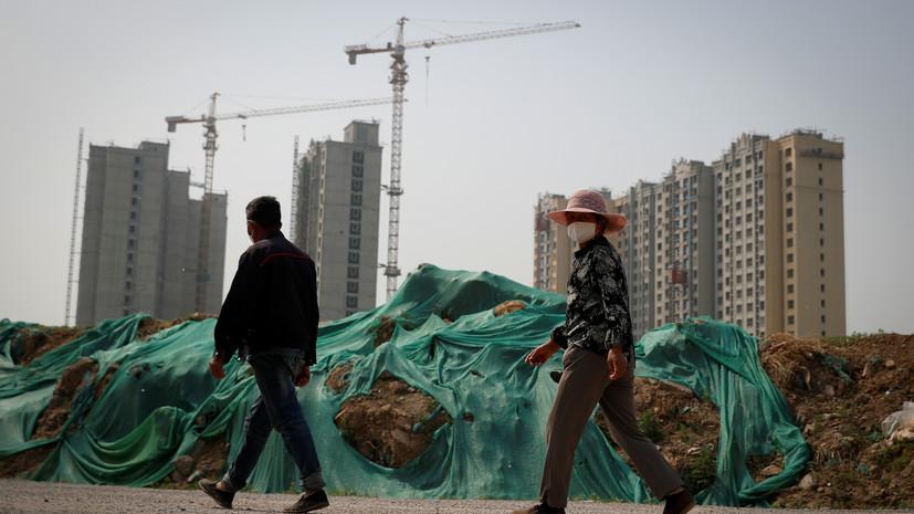 ВВП Китая в первом полугодии 2020 года снизился на 1,6%